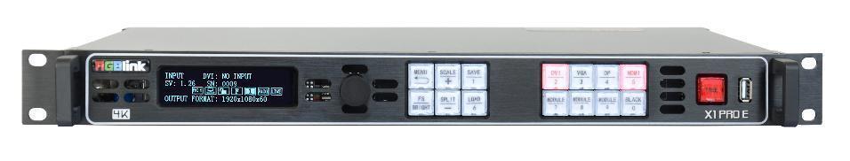 Escalador, selector 4K RGB Link X! Pro E